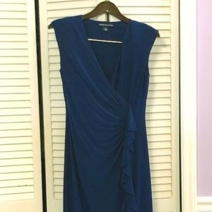 Gorgeous, Royal Blue, Capped Sleeve Dress-Size 10